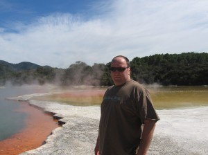 Champagne Pools in Rotorua