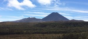 Mt Ngauruhoe (Mt Doom in The Lord of the Rings trilogy)