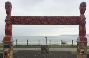 Māori Sculpture Taupō Lake Front